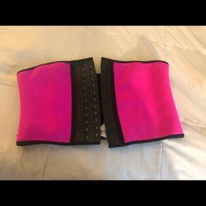 Brand New Ann Cherry Waist Trainer Pink